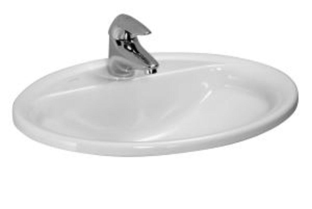 PRO-B umyv.zápustné 56x44cm bílé 1395.1(ch104) I.j. - Sanitární keramika / Umyvadla do koupelny