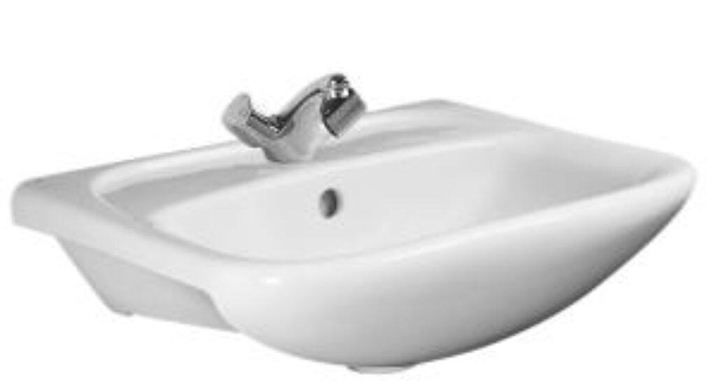 LYRA-NEW umyv.do nábytku bílé 1436.4(ch104) I.j. - Sanitární keramika / Umyvadla do koupelny