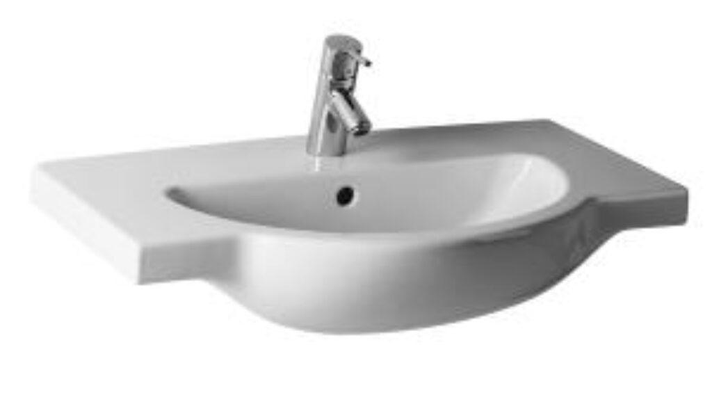 MIO umyv.do nábytku 75x47cm bílé 1471.6(ch104) I.j. - Doprodej koupelnového vybavení / Sanitární keramika v doprodeji / Umyvadla do koupelny v akci