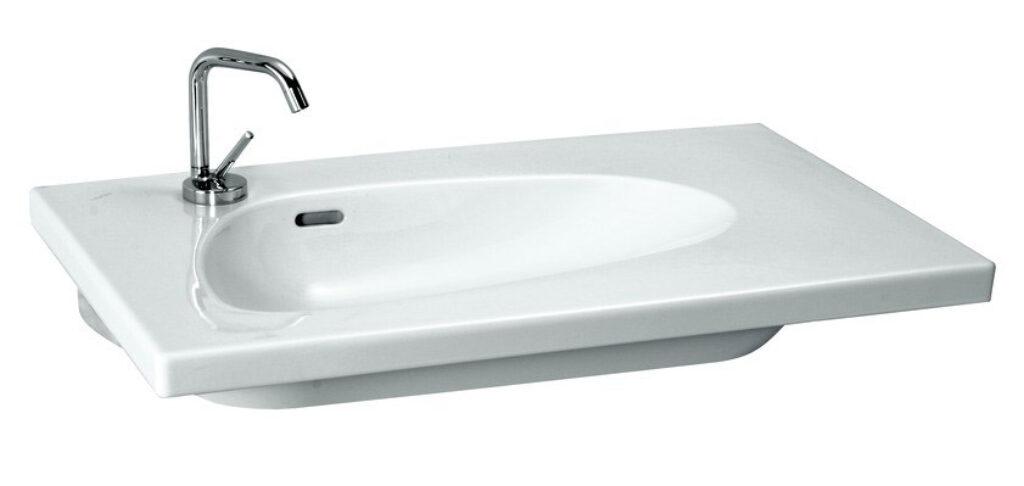 PALOMBA umyv.do nábytku 80x50cm bílé 1480.4(ch104) I.j. - Doprodej koupelnového vybavení / Sanitární keramika / Umyvadla do koupelny