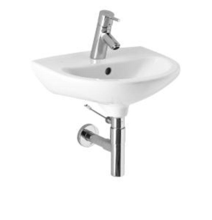 MIO umývátko 45x36cm bílé 1571.1(ch104)I.j. - Doprodej koupelnového vybavení / Sanitární keramika v doprodeji / Umývátka