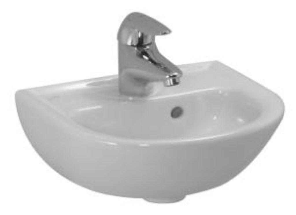 PRO-B umývátko 35x31cm bílé 1595.0(ch104) I.j. - Sanitární keramika  / Umývátka / Katalog koupelen