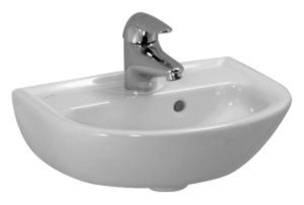 PRO-B umývátko 40x32cm bílé 1595.1(ch104) I.j. - Sanitární keramika  / Umývátka / Katalog koupelen