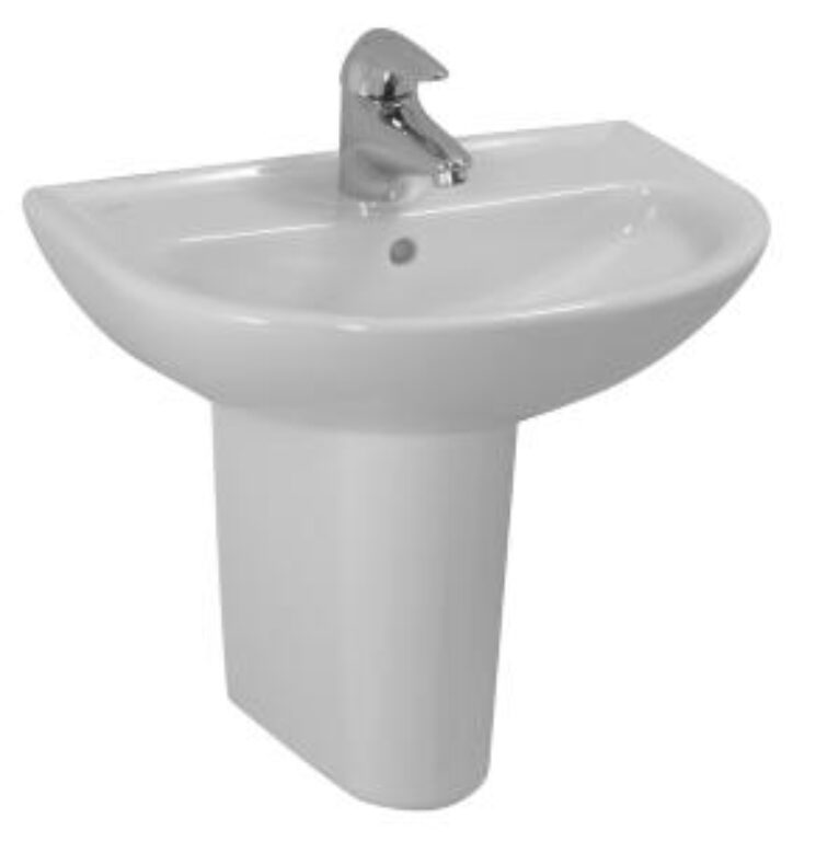 PRO-B umývátko 45x33cm bílé 1595.2(ch104) I.j. - Doprodej koupelnového vybavení / Sanitární keramika v doprodeji / Umývátka