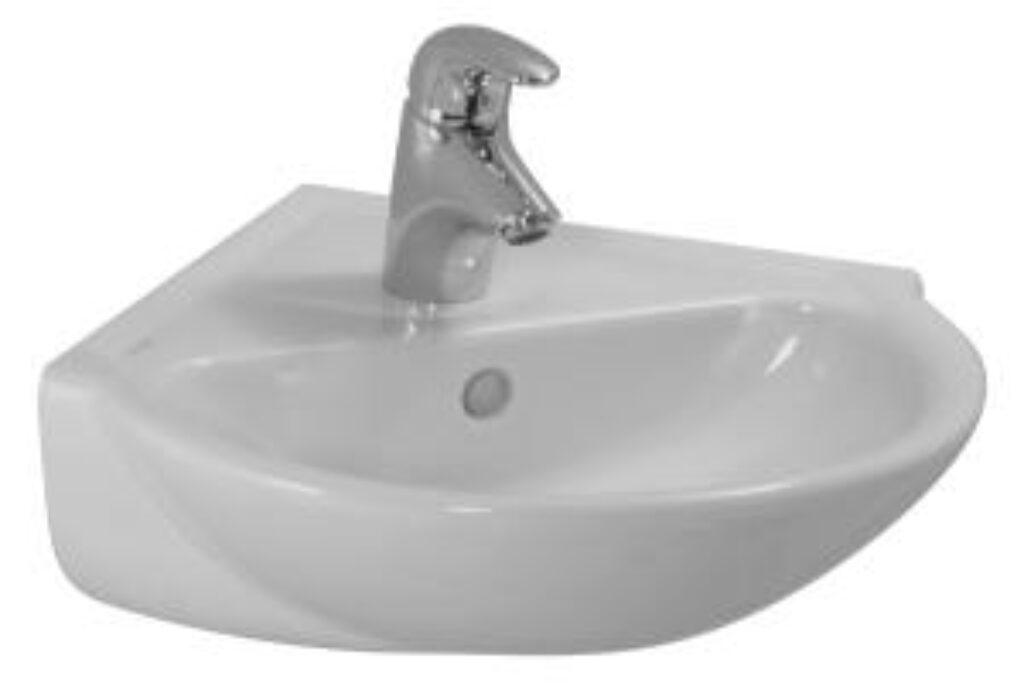 PRO-C umývátko 49,5x50cm bílé 1695.6(ch104) I.j. - Sanitární keramika  / Umývátka / Katalog koupelen