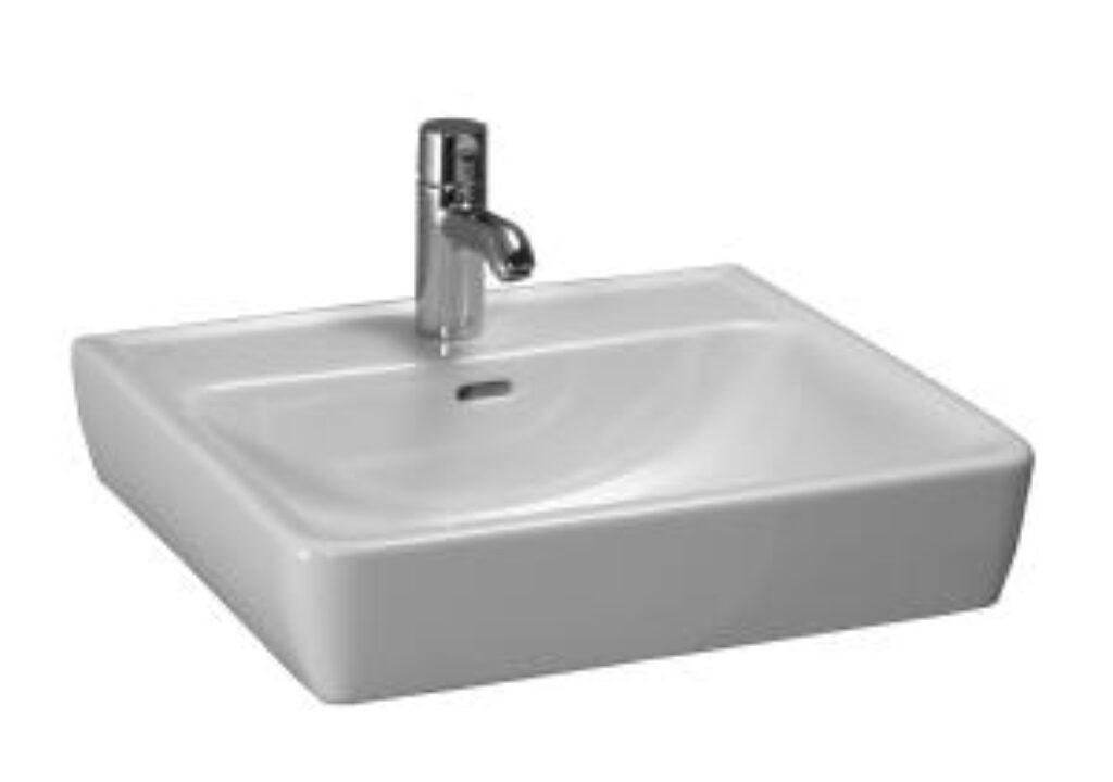 PRO-A umyv.mísa 55x48cm bílá 1795.1(ch104) I.j. - Doprodej koupelnového vybavení / Sanitární keramika v doprodeji / Umyvadla do koupelny v akci