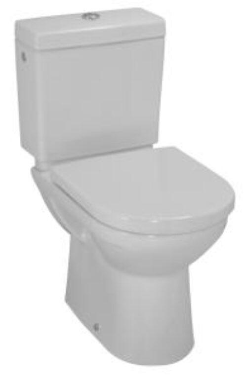 PRO-A,B,C WC kombi mísa stojící bílá 2495.6 I.j. - Sanitární keramika / WC / Toalety