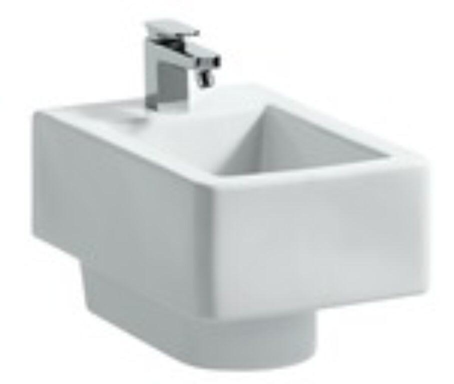 LAUFEN LIVING City závěsný bidet s 1 otvorem pro baterii bílý 3043.2(ch000) I.j. - Sanitární keramika  / Bidety - WC / Katalog koupelen