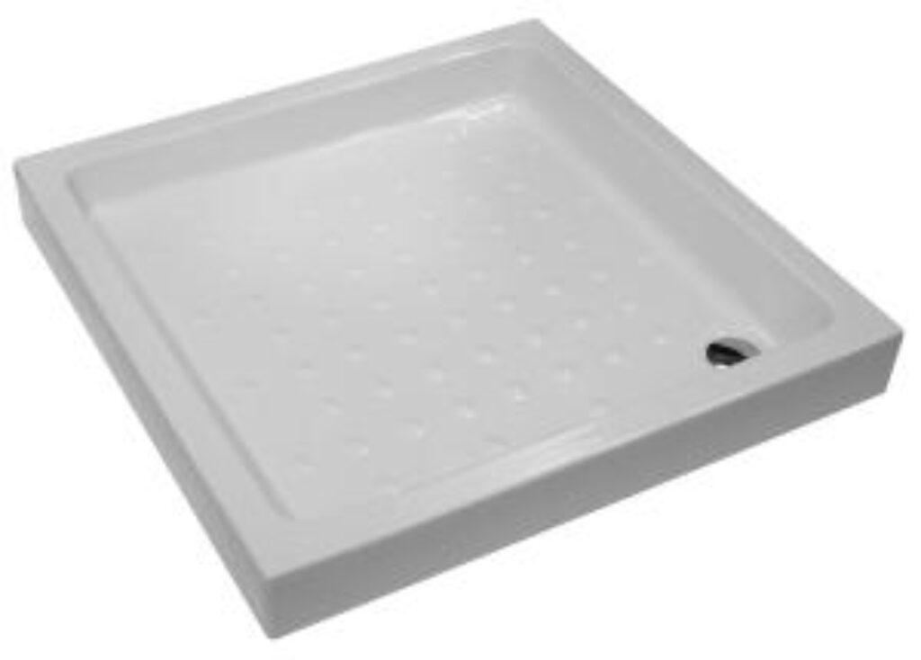 JIKA vanička RAVENNA 90/90/11cm keramická bílá 5209.1(ch000) I.j. - Sprchové kouty pro koupelny / Sprchové vaničky do koupelny / Čtvercové vaničky / Katalog koupelen