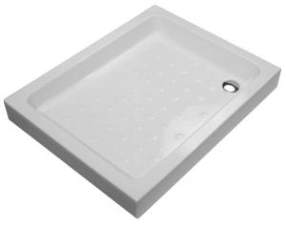 JIKA vanička RAVENNA 72/90/11cm keramická bílá 5213.1(ch000) I.j. - Sprchové kouty pro koupelny / Sprchové vaničky do koupelny / Obdelníkové vaničky / Katalog koupelen