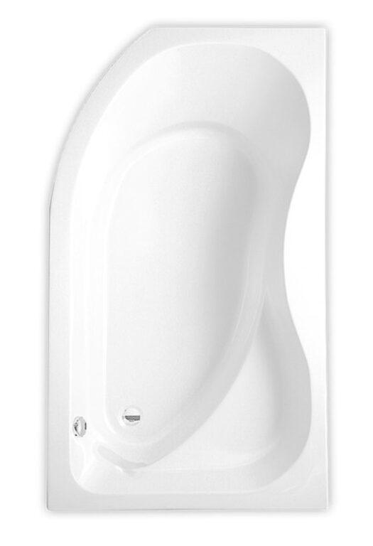 ROL-Activa vana levá 160/90 bílá (8430000) - Vany / Vanové zástěny do koupelen