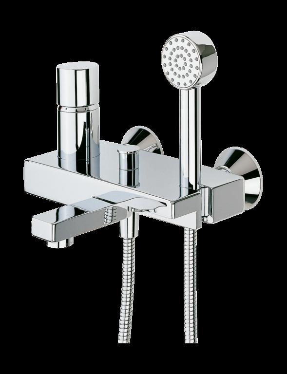ORAS ALESSI vanová/sprchová baterie chrom 8545 - Doprodej koupelnového vybavení / Vodovodní baterie v akci