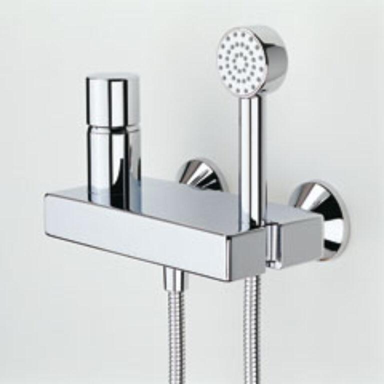 ORAS ALESSI sprch.nástěn.bat.chr.8560 - Vodovodní baterie / Sprchové baterie / Katalog koupelen