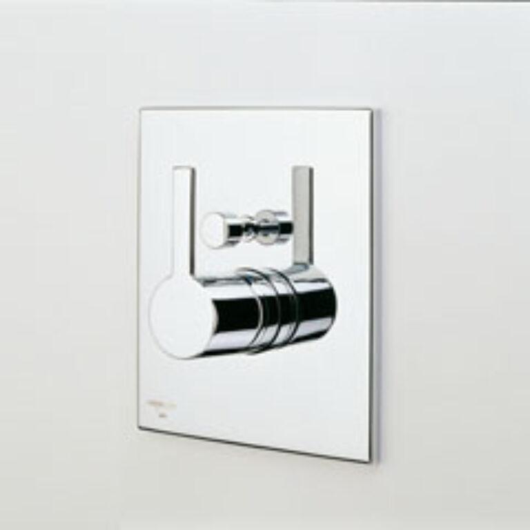ORAS ALESSI ONE vanová a sprchová podomítková bat. 8598 chrom - Vodovodní baterie / Vanové baterie / Katalog koupelen