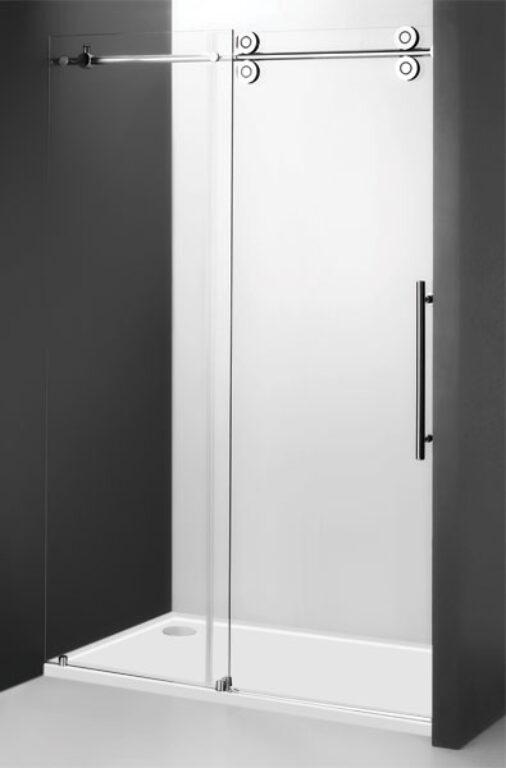 ROL-KID2/1500 Brillant/Transparent sprchové dveře posuvné - Sprchové kouty pro koupelny / Dveře do niky / Katalog koupelen