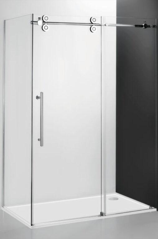 ROL-KIB/900 Brillant/Transparent pevná stěna ke kombinaci s KID2 - Sprchové kouty pro koupelny / Ostatní produkty pro sprchové kouty / Katalog koupelen