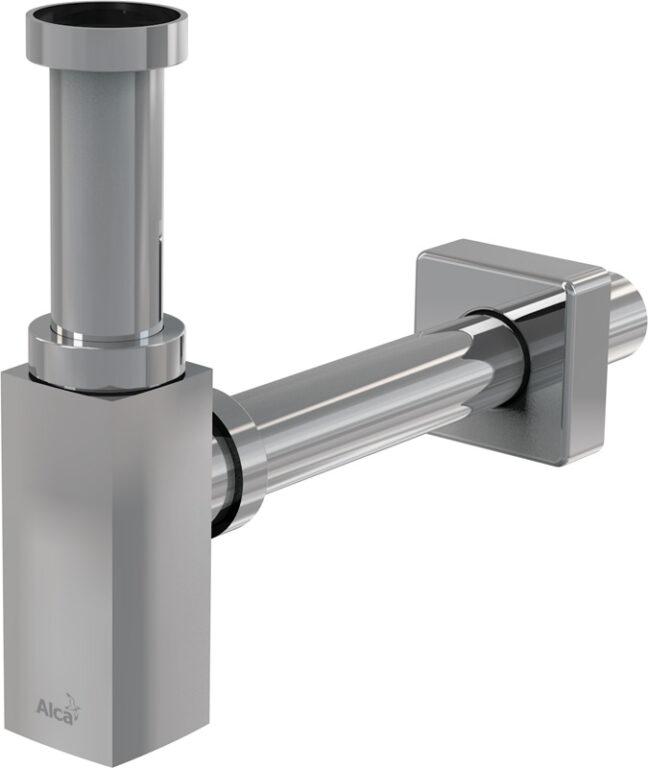 Sifon umyvadlový průměr 32mm DESIGN celokovový hranatý A401 - Sanitární keramika / Příslušenství k sanitární keramice
