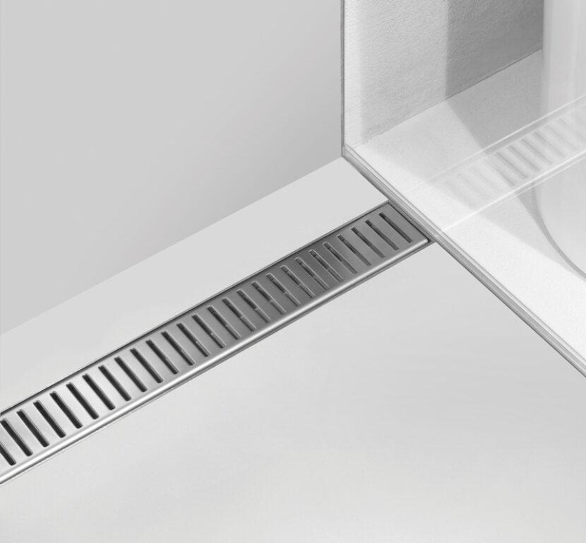 Žlab LOW podlahový s okrajem pro perforovaný rošt APZ101-650 - Žlaby / Katalog koupelen
