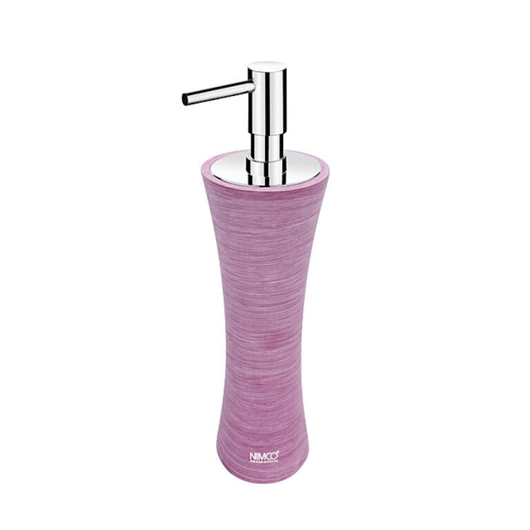 NIMCO-Atri dávkovač na tekuté mýdlo polyresin fialový AT5031-50 - Koupelnové doplňky / Doplňky do koupelny / Katalog koupelen