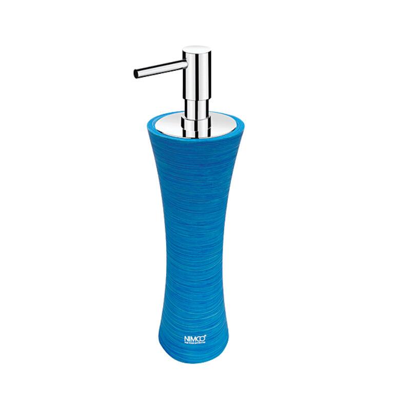 NIMCO-Atri dávkovač na tekuté mýdlo polyresin modrá AT5031-60 - Koupelnové doplňky / Doplňky do koupelny / Katalog koupelen