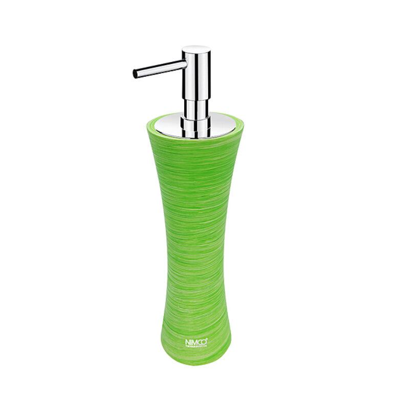 NIMCO-Atri dávkovač na tekuté mýdlo polyresin zelená AT5031-70 - Koupelnové doplňky / Doplňky do koupelny / Katalog koupelen