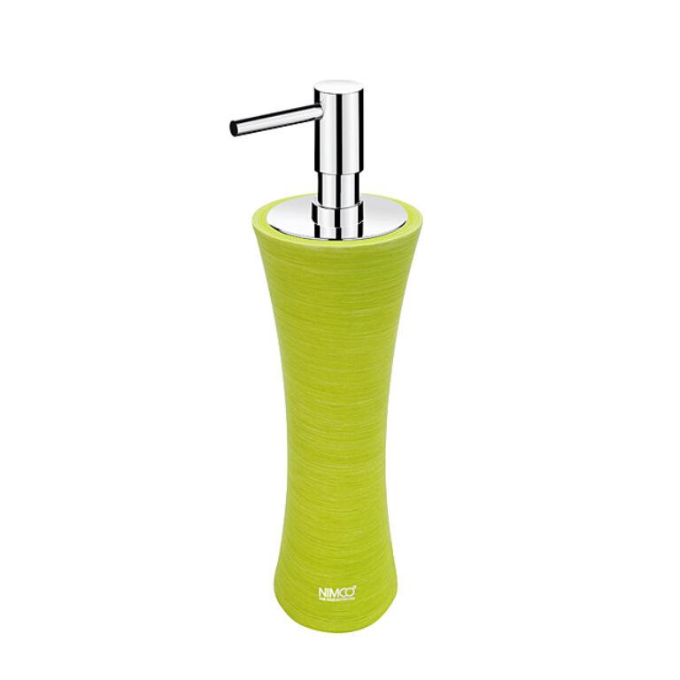 NIMCO-Atri dávkovač na tekuté mýdlo polyresin žlutozelená AT5031-75 - Koupelnové doplňky / Doplňky do koupelny / Katalog koupelen