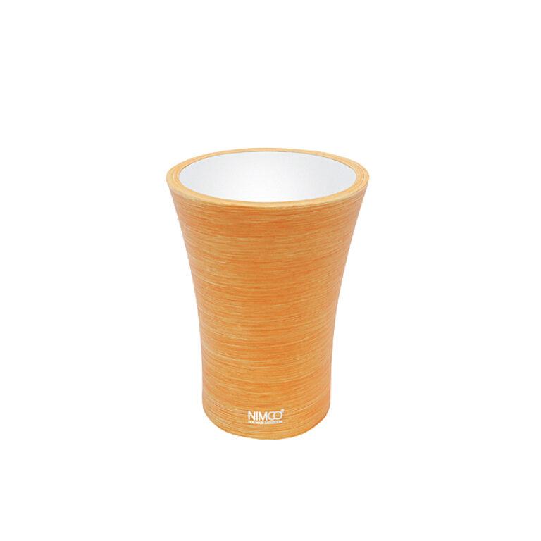 NIMCO-Atri pohárek na kartáčky polyresin oranžová AT5058-20 - Koupelnové doplňky / Doplňky do koupelny / Katalog koupelen