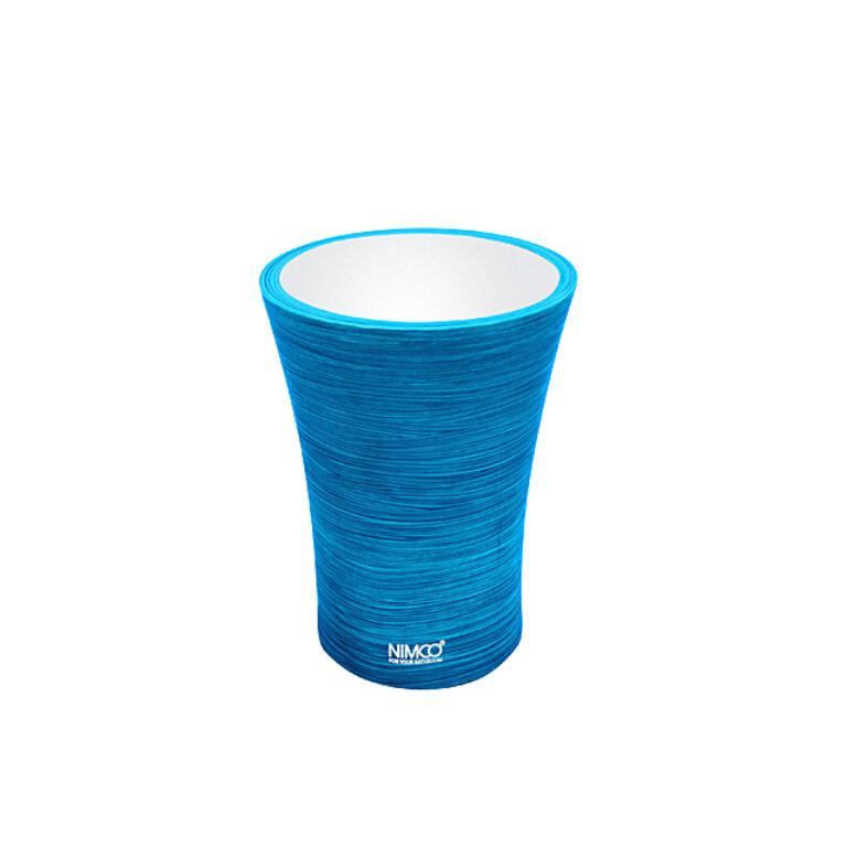 NIMCO-Atri pohárek na kartáčky polyresin modrá AT5058-60 - Koupelnové doplňky / Doplňky do koupelny / Katalog koupelen