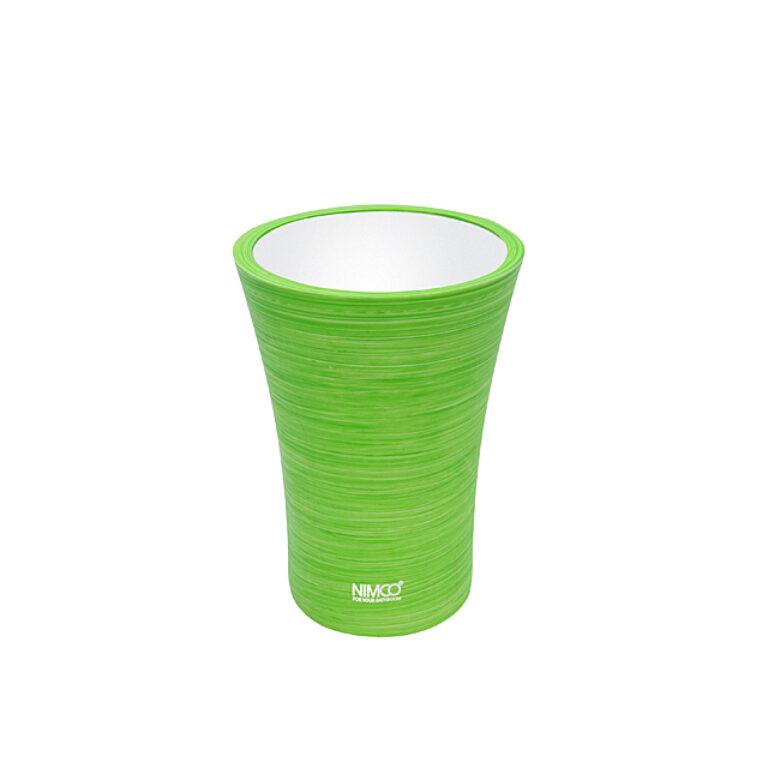 NIMCO-Atri pohárek na kartáčky polyserin zelená AT5058-70 - Koupelnové doplňky / Doplňky do koupelny / Katalog koupelen