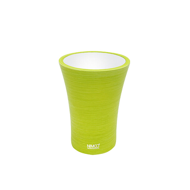 NIMCO-Atri pohárek na kartáčky polyserin žlutozelená AT5058-75 - Koupelnové doplňky / Doplňky do koupelny / Katalog koupelen