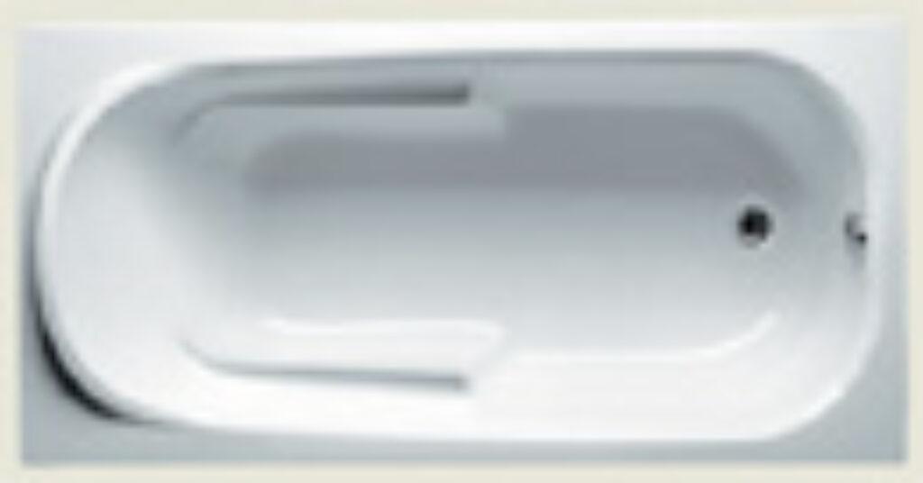 RIHO columbia 140x70cm bílá005 I.j. - Vany / Obdelníkové vany do koupelen