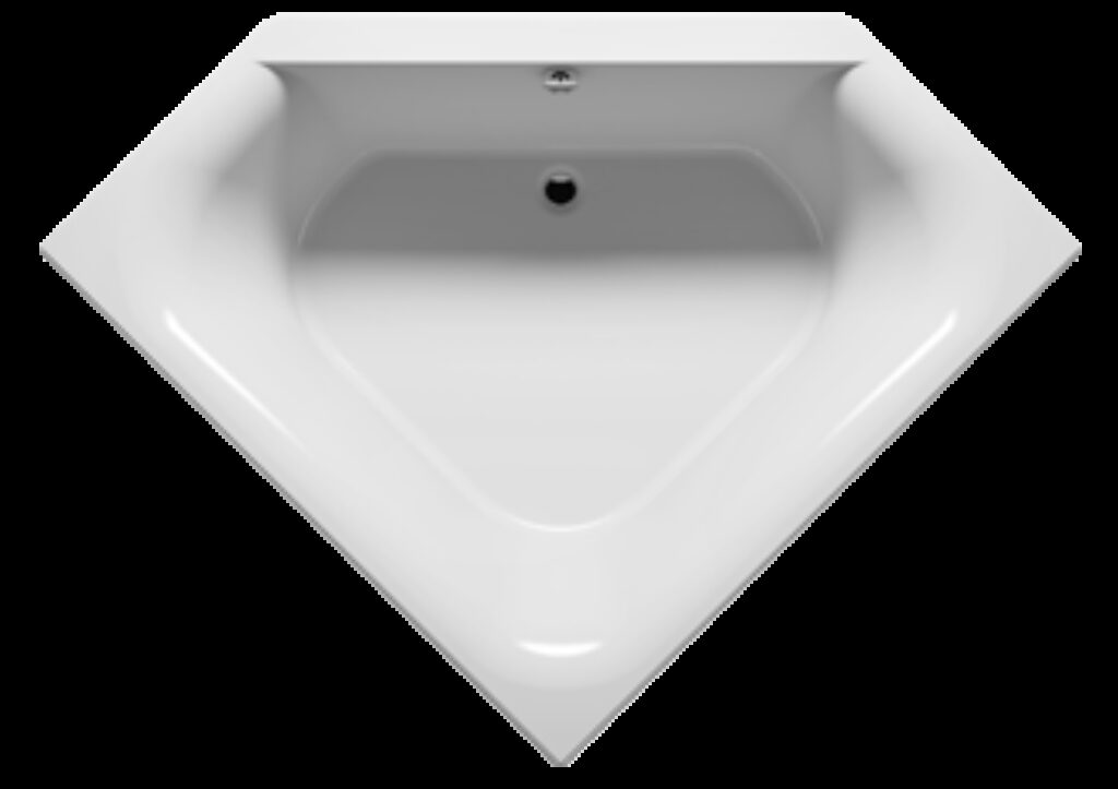RIHO Austin vana 145x145cm bílá I.j. BA11005 - Sprchové kouty pro koupelny / Sprchové vaničky do koupelny / Katalog koupelen