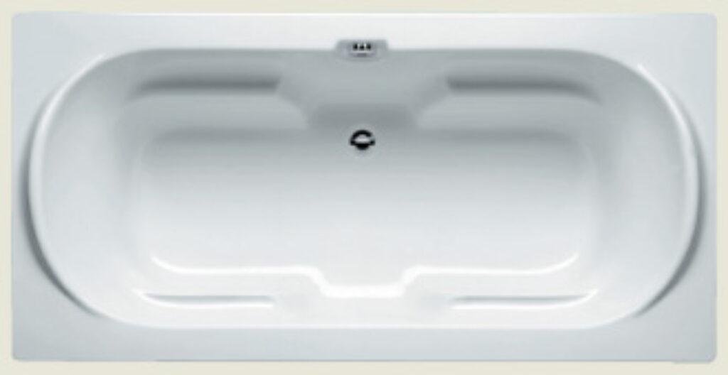 RIHO montreal 190x90cm bílá005 I.j. - Vany / Obdelníkové vany do koupelen
