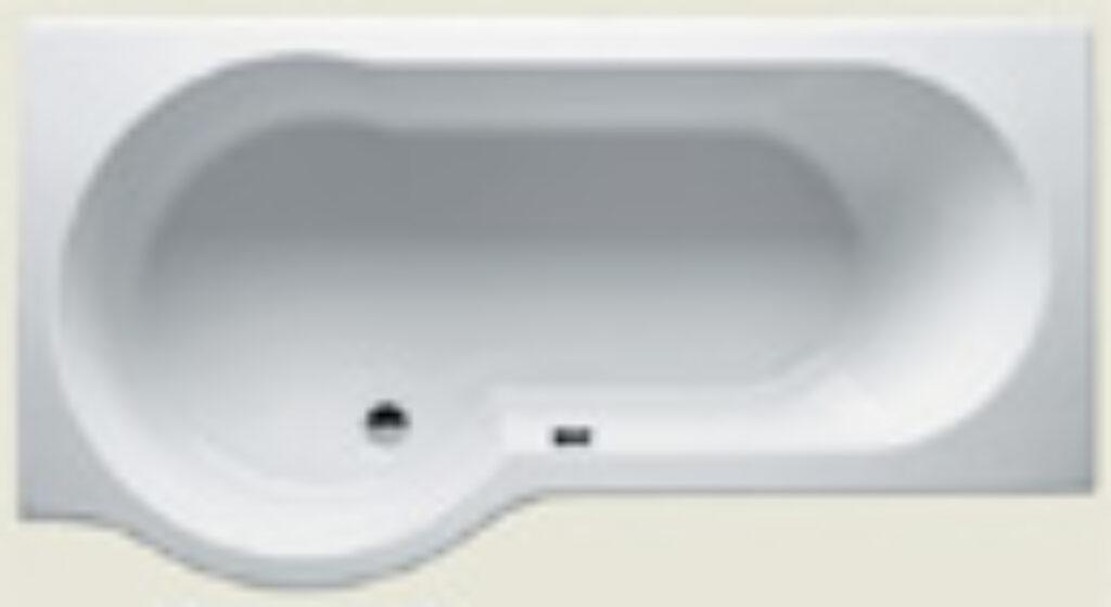 RIHO dorado pravá 170x90cm bílá005 I.j. - Vany / Obdelníkové vany do koupelen