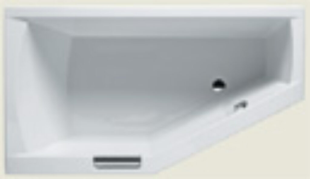RIHO geta 160x90cm pravá bílá I.j. - Vany  / Asymetrické vany do koupelen / Katalog koupelen