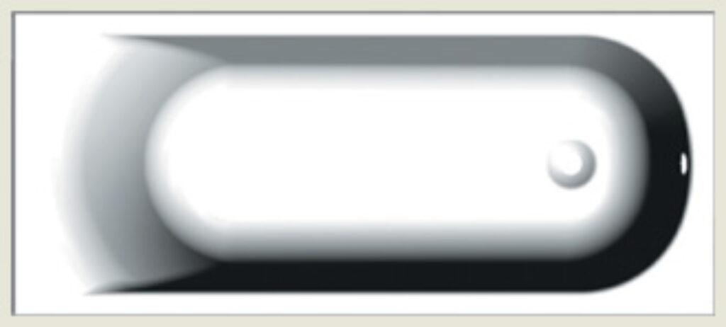 RIHO miami 170x70cm bílá I.j. - Vany / Obdelníkové vany do koupelen