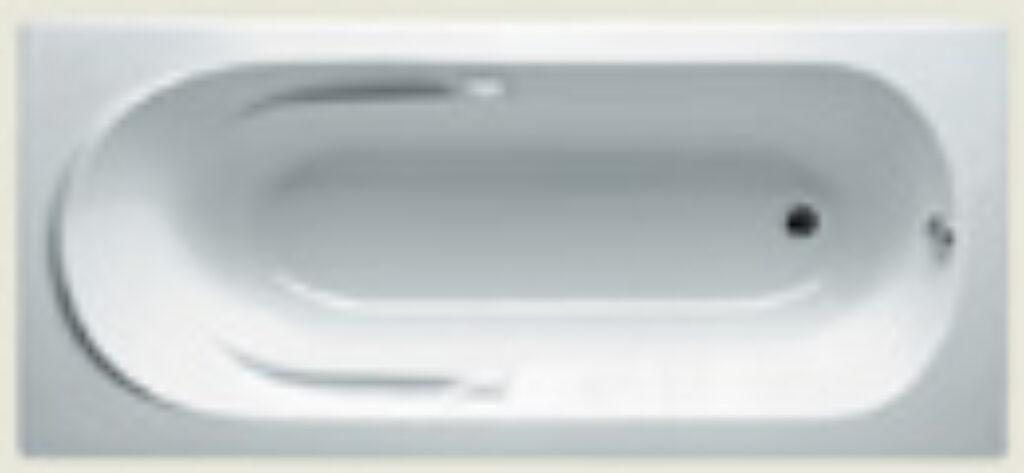 RIHO future 180x80cm bílá005 I.j. - Vany / Obdelníkové vany do koupelen