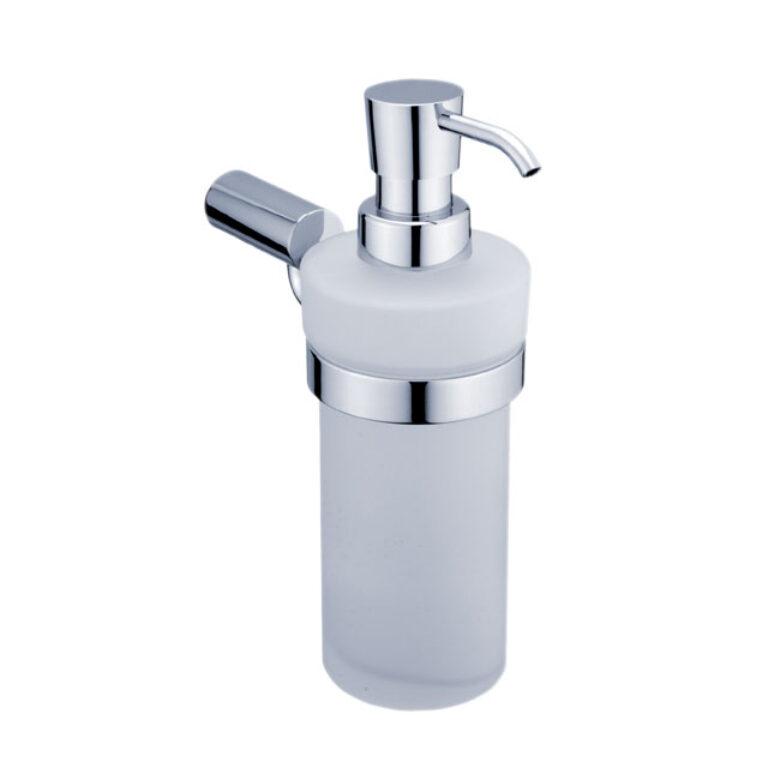 NIMCO-Bormo dávkovač na tekuté mýdlo 200ml rosené sklo BR11031W-26 - Koupelnové doplňky / Doplňky do koupelny