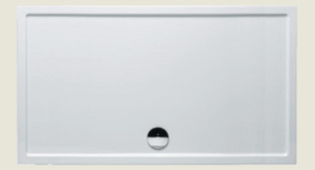 RIHO vanička DA67 SV259 obdélník 160/90/4,5 bílá +nohy a panel I.j. - Sprchové kouty pro koupelny / Sprchové vaničky do koupelny / Katalog koupelen