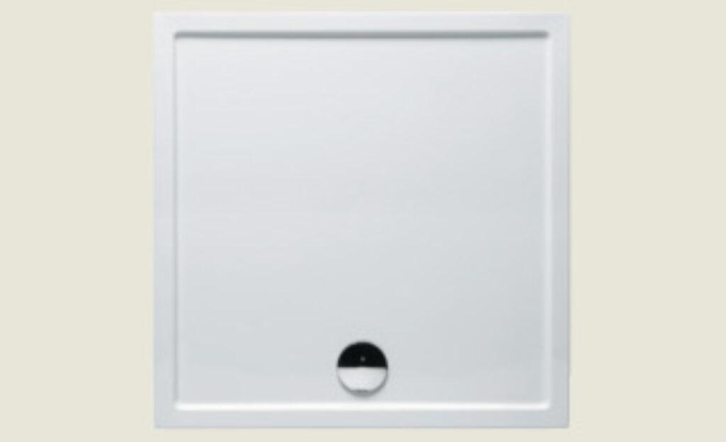 RIHO vanička DA69 SV261 čtverec 100/100/4,5 bílá + nohy a panel I.j. - Sprchové kouty pro koupelny / Sprchové vaničky do koupelny / Čtvercové vaničky