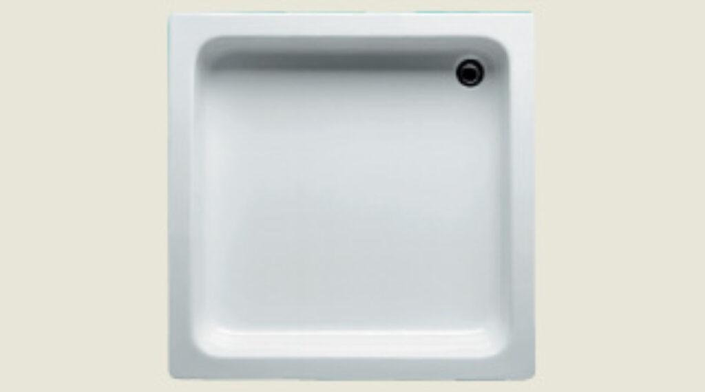 RIHO vanička DC04 Saturnus 90/90/15,5 bílá I.j. - Sprchové kouty / Sprchové vaničky / Čtvercové vaničky