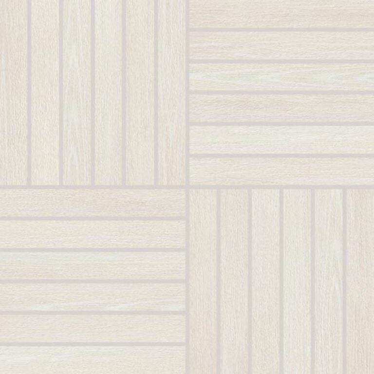 Mozaika k dlažbě Wood bílá 29,2/29,2 DDV1V618 - Doprodej obkladů a dlažeb / Obklady a dlažby RAKO v doprodeji