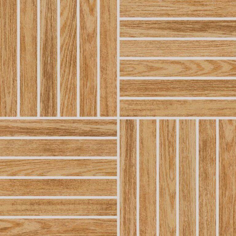 Mozaika k dlažbě Wood béžová 29,2/29,2 DDV1V619 - Doprodej obkladů a dlažeb / Obklady a dlažby RAKO v doprodeji