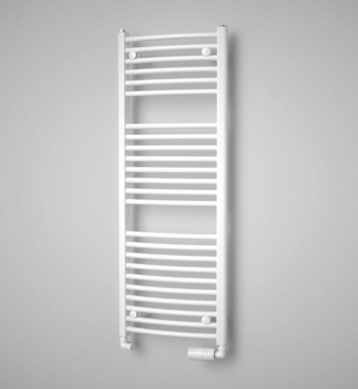 ISAN-Grenada Radius 1535/600 sněhově bílá RAL9016 DGRR15350600SK01 - Koupelnové radiátory / Klasická otopná tělesa / Katalog koupelen