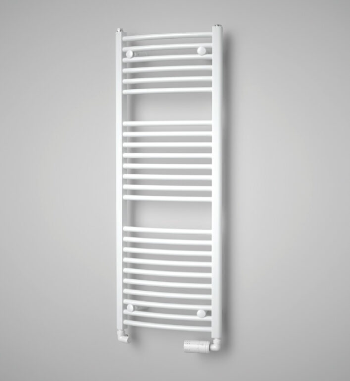 ISAN-Grenada Radius 1775/600 bílá RAL9010 DGRR17750600SK02 - Koupelnové radiátory / Klasická otopná tělesa