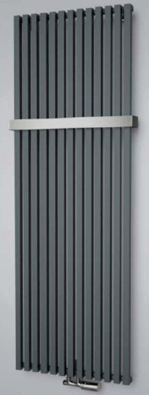 ISAN-Octava 1800/318 antracit metalíza S02 DOCT18000318SM61 - Koupelnové radiátory / Designová otopná tělesa / Katalog koupelen