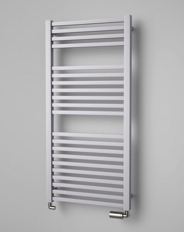 ISAN-Quadrat 1255/600 sněhově bílá RAL9016 DQUA12550600SK01 - Koupelnové radiátory / Klasická otopná tělesa
