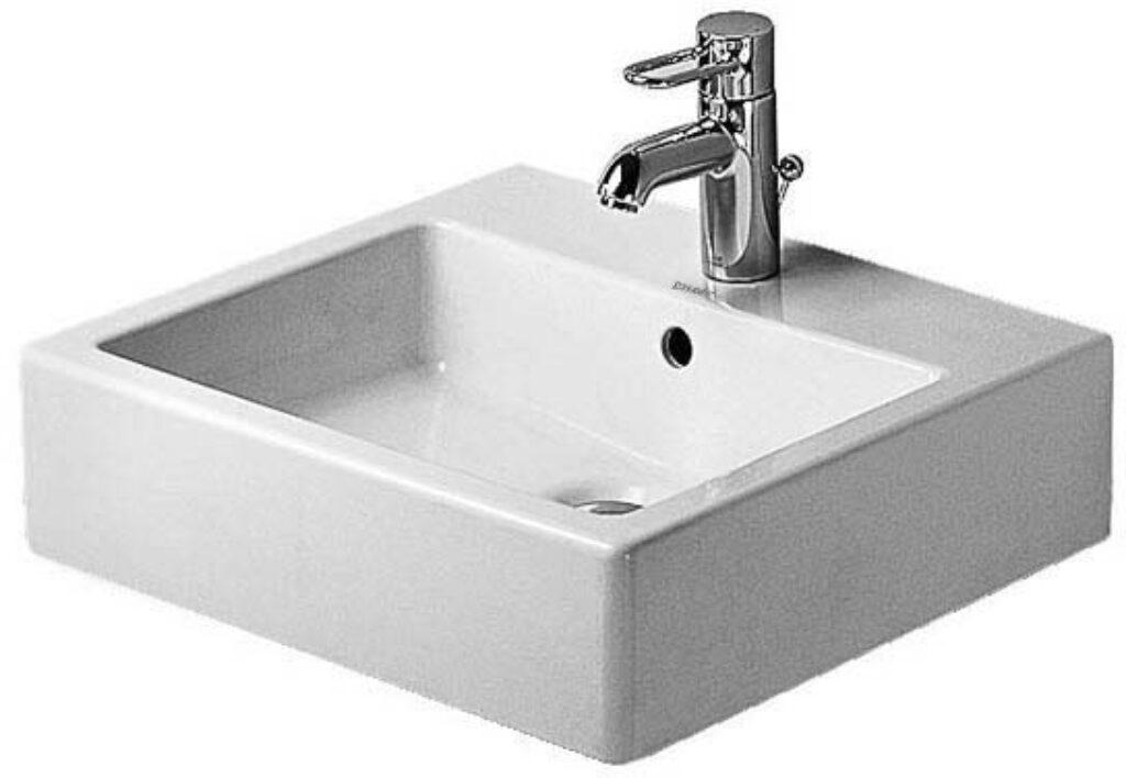 Duravit Vero umyvadlo 50x47cm bílé DUR0454500000 - Doprodej koupelnového vybavení / Sanitární keramika v doprodeji / Umyvadla do koupelny v akci