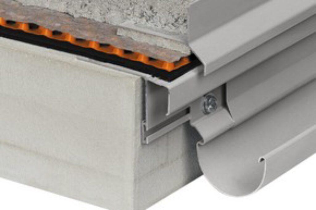 Schl.E/RT30PG koncovka pastelově šedá BARA-RT/EK - Systémová řešení / Balkony a terasy