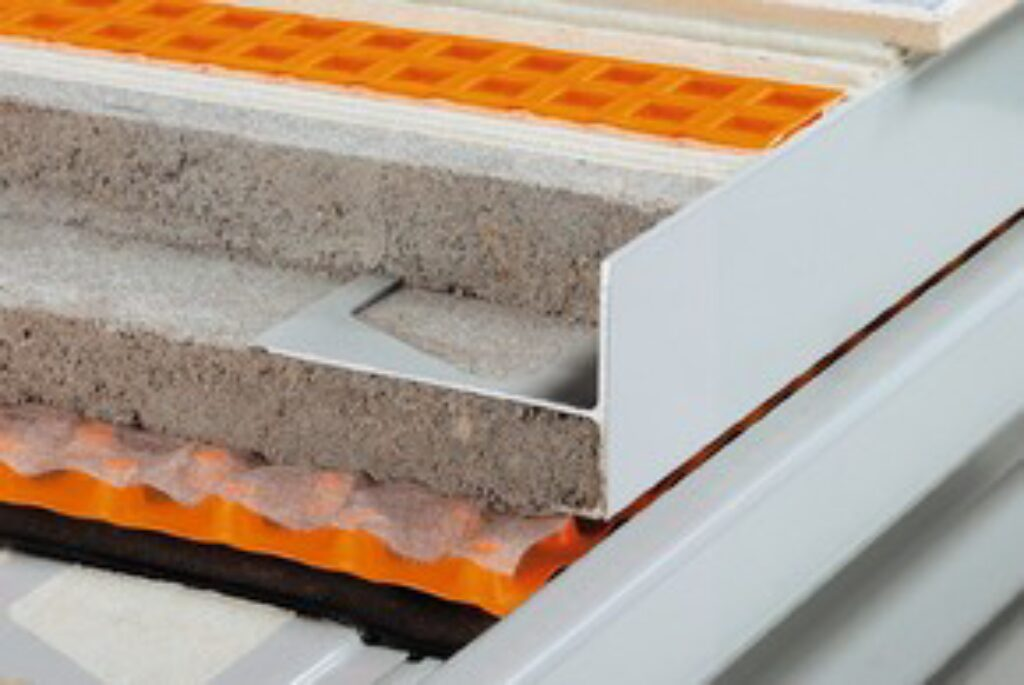 Schl.E90/R50PG vnější rohy 90° pastelově šedá BARA-R/E90° - Systémová řešení / Balkony a terasy / Katalog koupelen